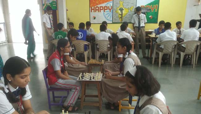 Chess Competition at S.V.P.T's Ghodbunder Road Thane