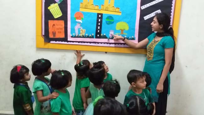 Pre-Primary Activity at S.V.P.T's Ghodbunder Road Thane