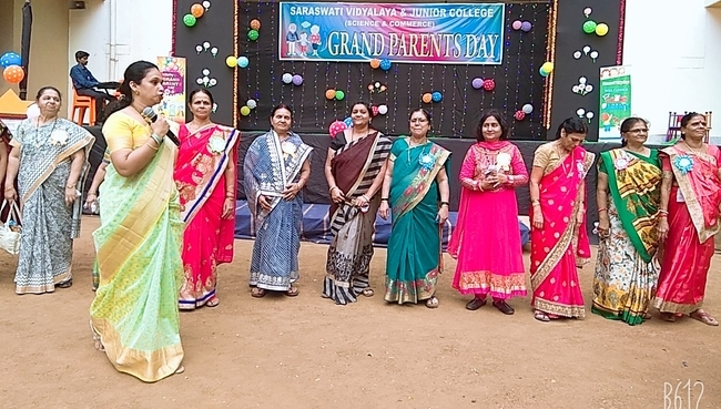 Grandparents Day Celebration 2019 | Schools in GB Road Thane