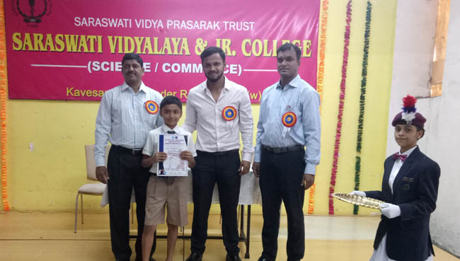 School Marathon Prize Winners 2018 at S.V.P.T's Ghodbunder Road Thane