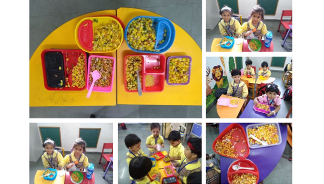 Activities of Pre Primary 2019