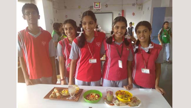 Food Experience Competition 2018 at S.V.P.T's Ghodbunder Road Thane