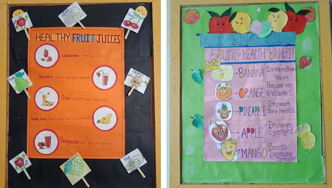 Pre-Primary Healthy Food Vs Junk Food at S.V.P.T's Ghodbunder Road Thane