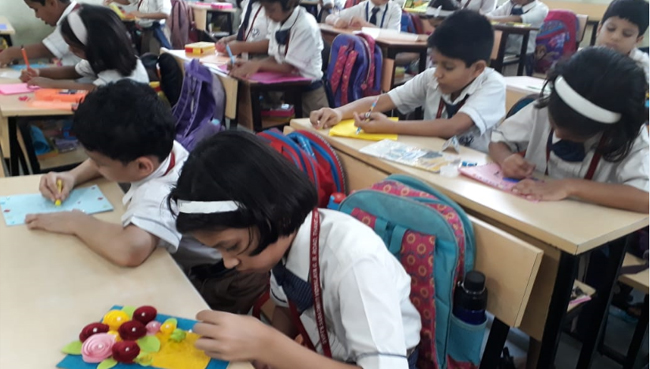 Fine Arts Primary at S.V.P.T's Ghodbunder Road Thane