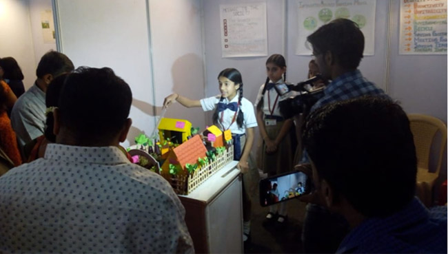 Shree Rang Vidyalaya Science Exhibition 2018-19
